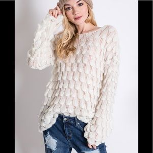 Gorgeous Feather Sweater